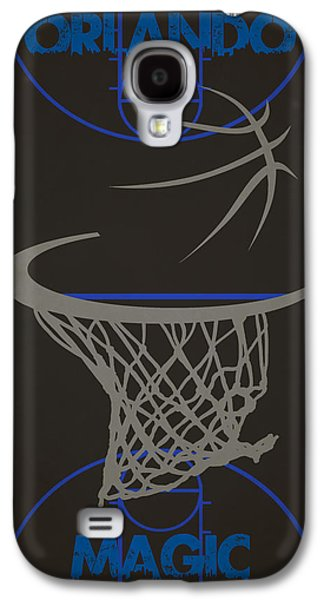 Magic Photographs Galaxy S4 Cases - Orlando Magic Court Galaxy S4 Case by Joe Hamilton