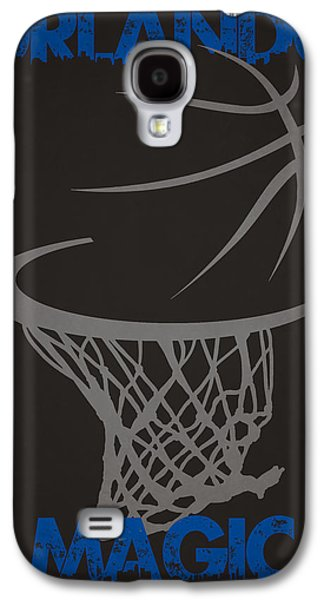 Fantasy Photographs Galaxy S4 Cases - Orlando Magic Hoop Galaxy S4 Case by Joe Hamilton