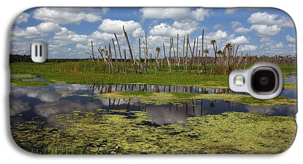 Wetlands Galaxy S4 Cases - Orlando Wetlands Cloudscape 2 Galaxy S4 Case by Mike Reid