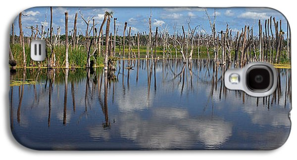 Wetlands Galaxy S4 Cases - Orlando Wetlands Cloudscape 5 Galaxy S4 Case by Mike Reid