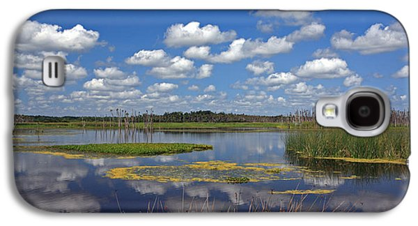 Wetlands Galaxy S4 Cases - Orlando Wetlands Park Cloudscape 4 Galaxy S4 Case by Mike Reid