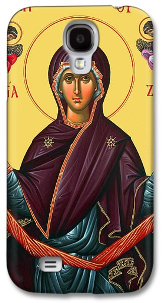 Orthodox Icon Galaxy S4 Cases - Orthodox Icon of Mary Galaxy S4 Case by Munir Alawi