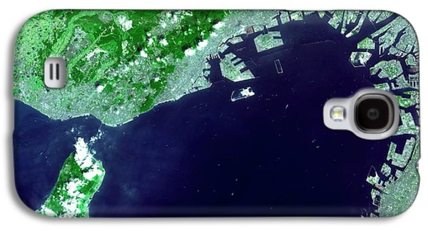 Osaka Bay Galaxy S4 Case by Nasa/gsfc/meti/japan Space Systems And U.s./japan Aster Science Team