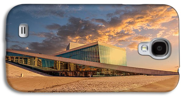 Oslo Opera House Galaxy S4 Cases - Oslo Opera Galaxy S4 Case by Catalin Tibuleac