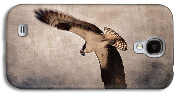 Hovering Galaxy S4 Cases - Osprey Over the Columbia River Galaxy S4 Case by Carol Leigh