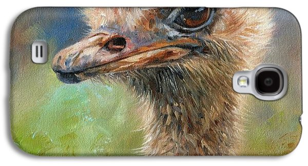 Ostrich Galaxy S4 Case by David Stribbling