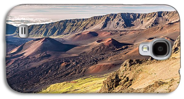 Surreal Landscape Galaxy S4 Cases - Otherworldly Volcano Landscape Galaxy S4 Case by Pierre Leclerc Photography