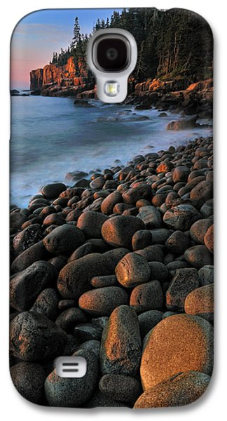 Otter Cliffs - Acadia National Park Galaxy S4 Case by Thomas Schoeller