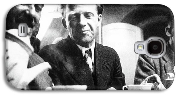 Otto Stern And Werner Heisenberg Galaxy S4 Case by Paul Ehrenfest, Jr., Courtesy Aip Emilio Segre Visual Archives, Weisskopf Collection