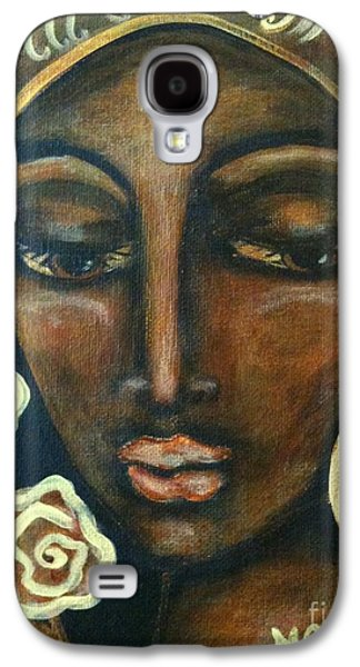Maya Telford Galaxy S4 Cases - Our Lady of Infinite Possibilities Galaxy S4 Case by Maya Telford