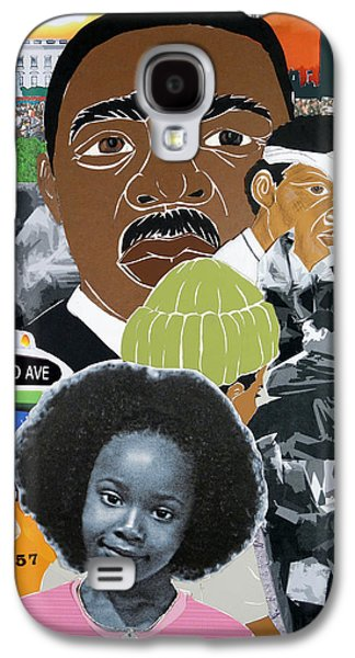 Barack Obama Galaxy S4 Cases - Our Recent Past Revisited - Hope Galaxy S4 Case by Martha Rucker