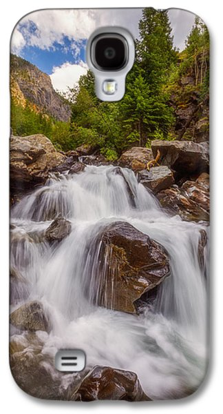 Landscape Acrylic Prints Galaxy S4 Cases - Ouray Wilderness Galaxy S4 Case by Darren  White