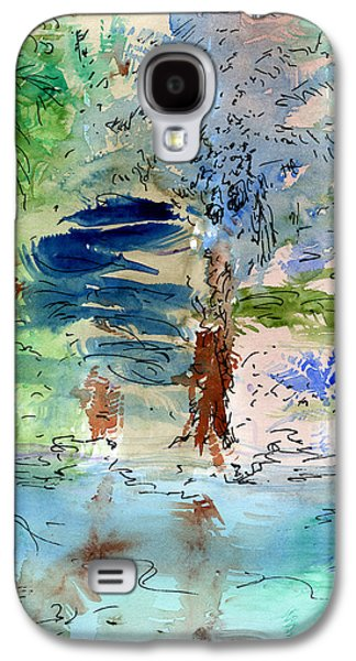 River Jordan Paintings Galaxy S4 Cases - Out of Egypt Galaxy S4 Case by Bruce Blanchard