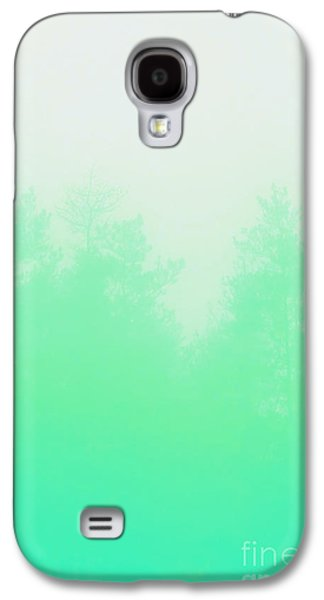 Photography Digital Art Galaxy S4 Cases - Out of focus mint Galaxy S4 Case by Budi Kwan
