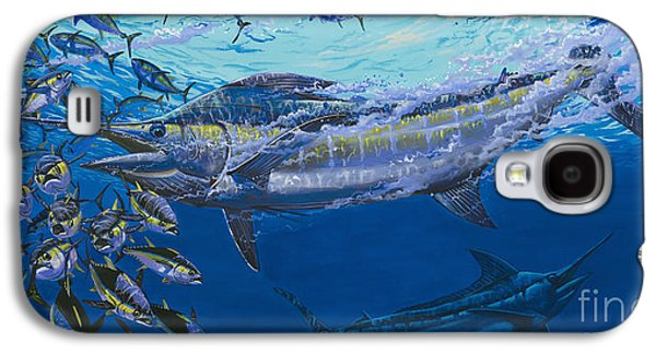 Marlin Azul Galaxy S4 Cases - Out of the blue Off009 Galaxy S4 Case by Carey Chen