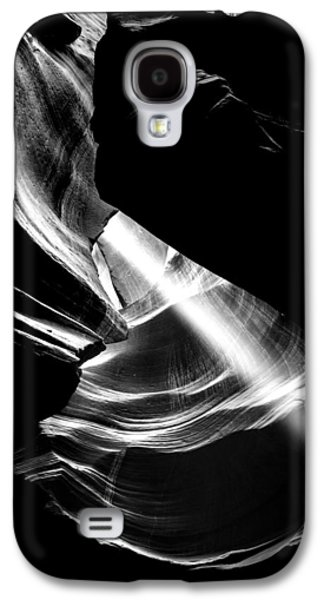 Black Top Galaxy S4 Cases - Out Of The Hole Galaxy S4 Case by Az Jackson