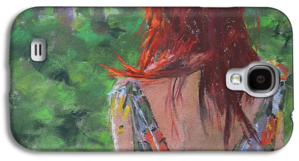 Torn Pastels Galaxy S4 Cases - Out of the Woods Galaxy S4 Case by Laura Tuininga Jackson