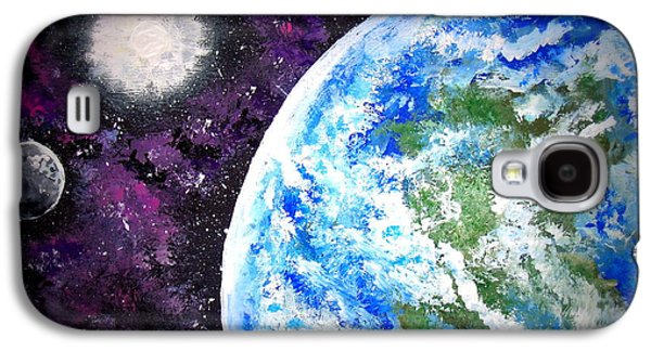 Enterprise Galaxy S4 Cases - Out of This World Galaxy S4 Case by Daniel Nadeau