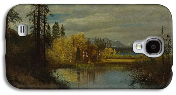 Outlet Galaxy S4 Cases - Outlet at Lake Tahoe Galaxy S4 Case by Albert Bierstadt