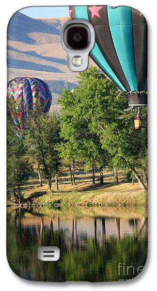 Yakima Valley Galaxy S4 Cases - Over the Trees and into the River Galaxy S4 Case by Carol Groenen