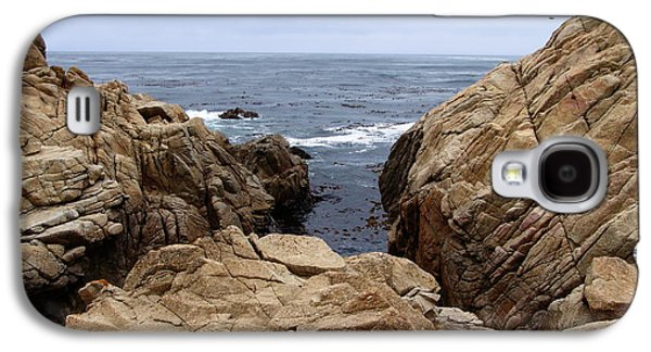 Scenic Drive Galaxy S4 Cases - Overcast Day At Pebble Beach Galaxy S4 Case by Glenn McCarthy Art and Photography