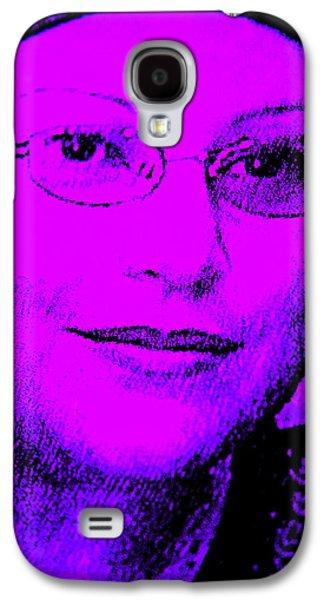 Inner Self Galaxy S4 Cases - Overcoming Breast Cancer Galaxy S4 Case by Sandra Pena de Ortiz