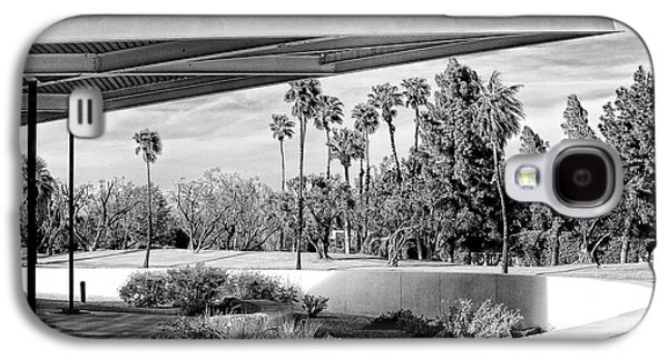Overhang Photographs Galaxy S4 Cases - OVERHANG BW Palm Springs Galaxy S4 Case by William Dey