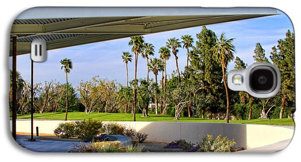 Overhang Photographs Galaxy S4 Cases - OVERHANG Palm Springs Tram Station Galaxy S4 Case by William Dey