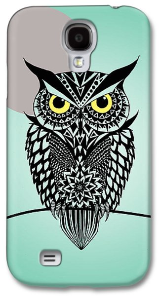 Animation Galaxy S4 Cases - Owl 5 Galaxy S4 Case by Mark Ashkenazi