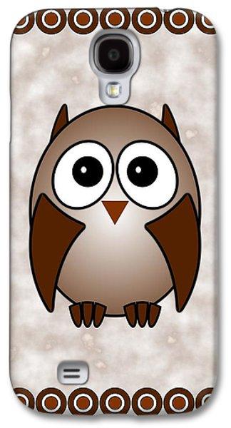 Owl - Birds - Art For Kids Galaxy S4 Case by Anastasiya Malakhova