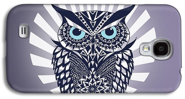 Owl Galaxy S4 Case by Mark Ashkenazi