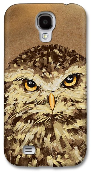 Recently Sold -  - Digital Galaxy S4 Cases - Owl Galaxy S4 Case by Veronica Minozzi