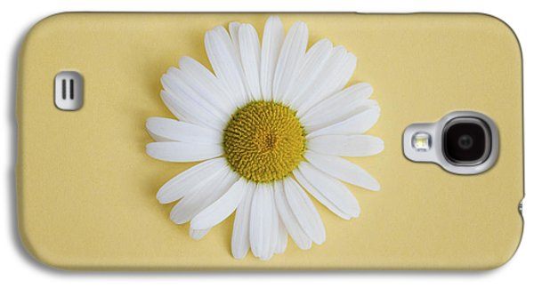 Midsummer Galaxy S4 Cases - Oxeye Daisy Square Yellow Galaxy S4 Case by Tim Gainey