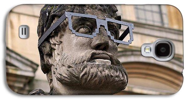 University Galaxy S4 Cases - Oxford Geek Galaxy S4 Case by Rona Black