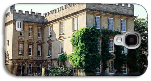 Historical Buildings Galaxy S4 Cases - Oxford University, New College Galaxy S4 Case by Panoramic Images