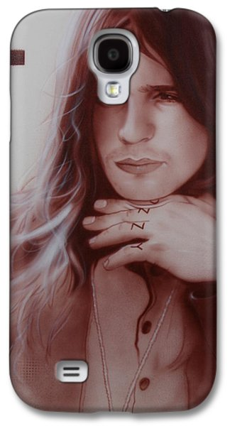 Gothic Paintings Galaxy S4 Cases - Ozzy Osbourne Galaxy S4 Case by Christian Chapman Art