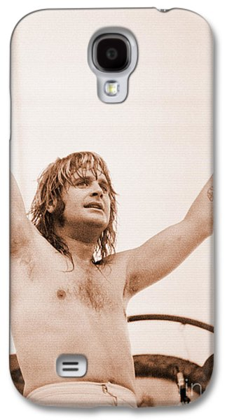 Rock Concerts Galaxy S4 Cases - Ozzy Osbourne--Day on the Green Unreleased 7-4-81/1st 5 Get Special Sale Prices Galaxy S4 Case by Daniel Larsen