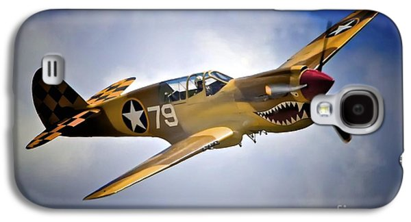 P-40 Galaxy S4 Cases - P-40 Warhawk No. 79 Galaxy S4 Case by Gus McCrea