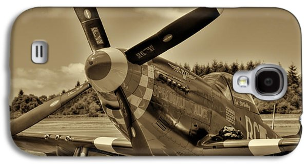 P51 Photographs Galaxy S4 Cases - P-51 Mustang II Galaxy S4 Case by David Patterson
