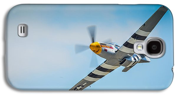 P51 Photographs Galaxy S4 Cases - P-51 Mustang Low Pass Galaxy S4 Case by Puget  Exposure
