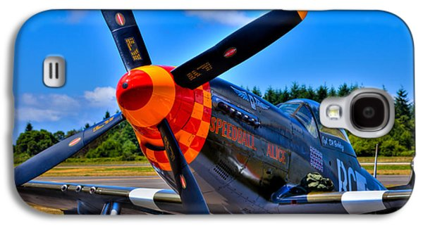 P51 Photographs Galaxy S4 Cases - P-51 Mustang - Speedball Alice Galaxy S4 Case by David Patterson