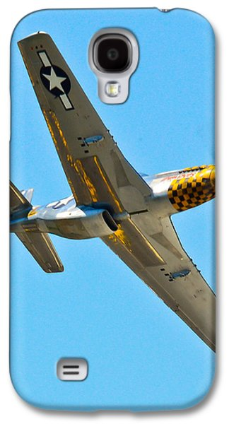 P51 Photographs Galaxy S4 Cases - P-51 Mustang Wing Over Galaxy S4 Case by Puget  Exposure