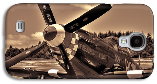 P51 Photographs Galaxy S4 Cases - P-51 Speedball Alice Galaxy S4 Case by David Patterson