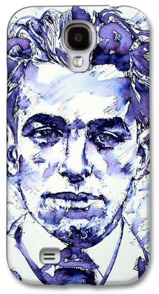 Pablo Galaxy S4 Cases - Pablo Neruda  Galaxy S4 Case by Fabrizio Cassetta