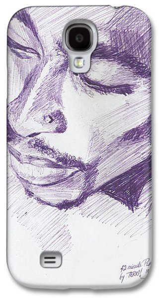 Hop Drawings Galaxy S4 Cases - Pac Galaxy S4 Case by Terri Meredith