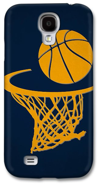 Pacers Galaxy S4 Cases - Pacers Team Hoop2 Galaxy S4 Case by Joe Hamilton