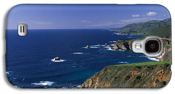 Big Sur Ca Galaxy S4 Cases - Pacific Coast, Big Sur, California, Usa Galaxy S4 Case by Panoramic Images