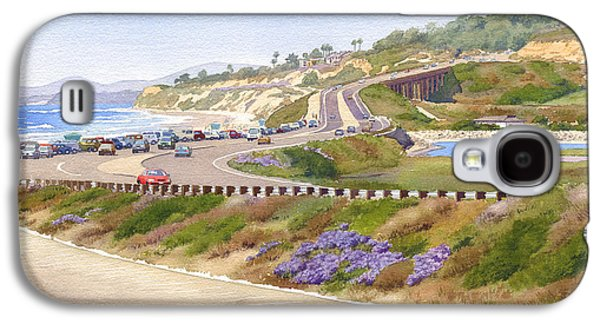 Pch Galaxy S4 Cases - Pacific Coast Hwy Del Mar Galaxy S4 Case by Mary Helmreich
