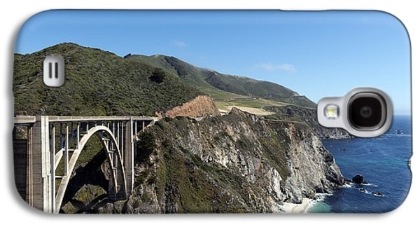 Bixby Bridge Galaxy S4 Cases - Pacific Coast Scenic Highway Bixby Bridge Galaxy S4 Case by Carol M Highsmith