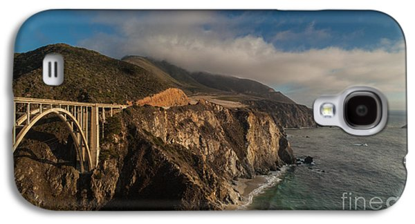 Bixby Bridge Galaxy S4 Cases - Pacific Coastal Highway Galaxy S4 Case by Mike Reid
